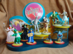 Wizard of Oz Wooden Retail Display with Figures