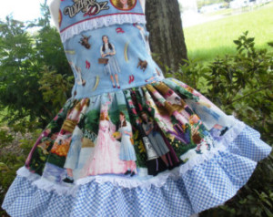 Wizard of Oz Fabric for clothing