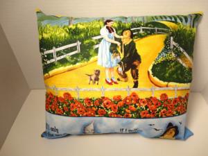 Wizard of Oz Fabric Pillow