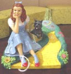 Wizard of Oz Figurines - Follow the Yellow Brick Road