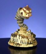 Wizard of Oz Figurines - We Are Not in Kansas Anymore