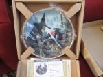 1988 Wizard of Oz Hamilton Collection Collector Plates